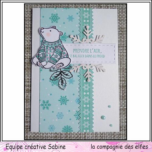 Cartes créatives de Novembre. Sabine59