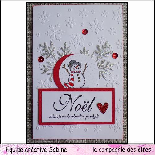 Cartes créatives de Novembre. Sabine60