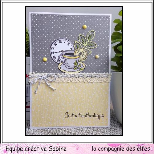 Cartes créatives de Novembre. Sabine61