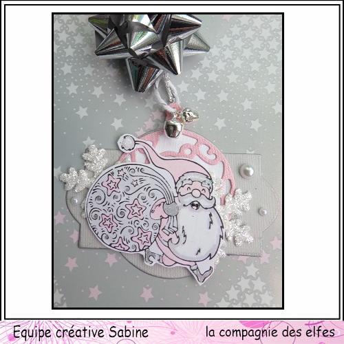Etiquettes cadeaux pour Noël  Sabine65