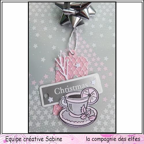 Etiquettes cadeaux pour Noël  Sabine66