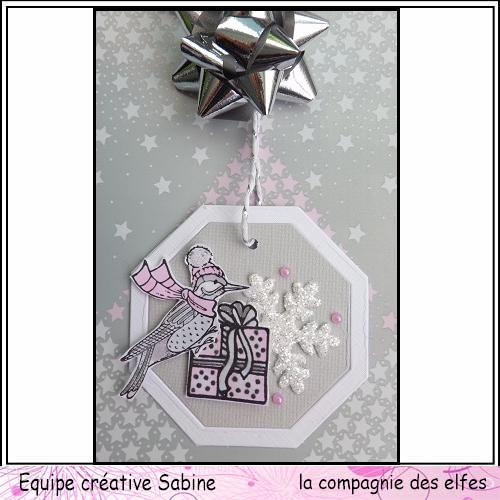 Etiquettes cadeaux pour Noël  Sabine67