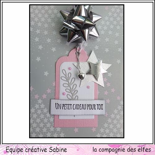 Etiquettes cadeaux pour Noël  Sabine68