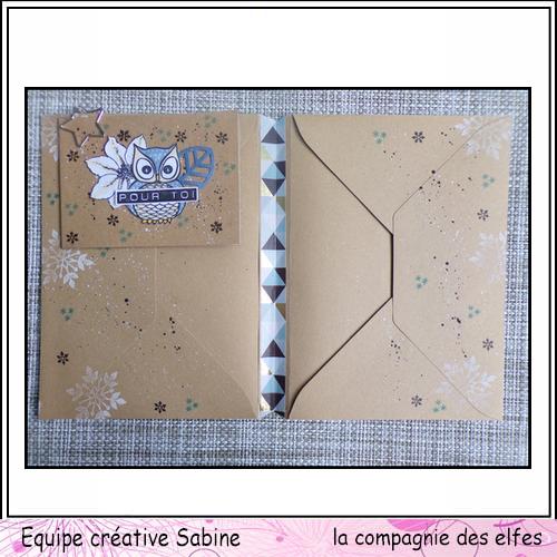 Cartes enveloppes surprises Sabine88