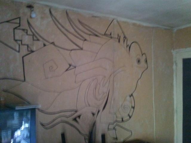 ébauche de fresque Photo040