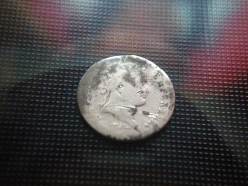 Demi Franc 1808 A - Napoléon Empereur - Premier Empire -  Dscn3827