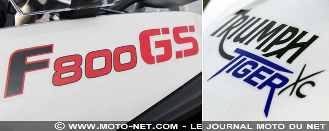 Duel BMW F 800 GS Vs Triumph Tiger 800 XC  F800gs10