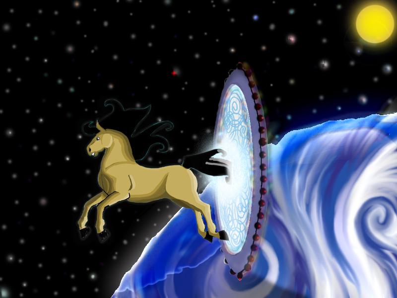 Cheval spatial Commande pour Nadri Cheval10