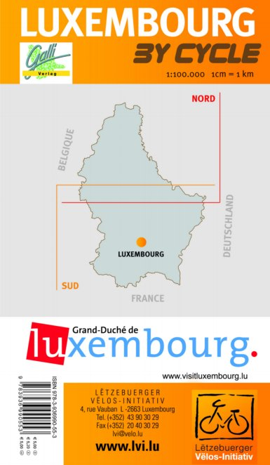 cartes des itinéraires Luxemb11