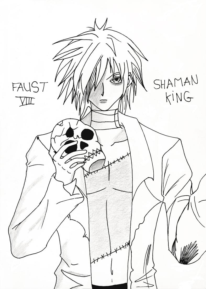 The art of Hizoumie Shaman10