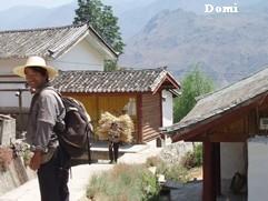 La Chine sac au dos (10) : «Treks des gorges du Tigre au Lugu Hu avec des copains du Club Alpin Paris» 2 ème épisode : de Daju au Lugu hu  Shitou11