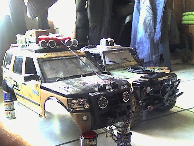 [ SCX10 Axial ] land rover G4  Def_9012