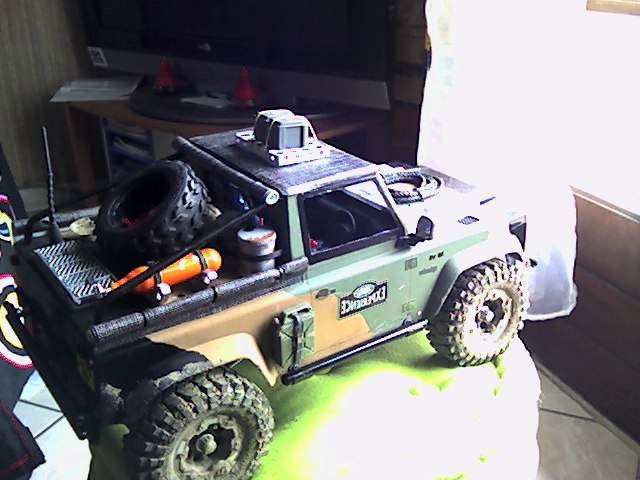 [ SCX10 Axial ] land rover G4  Defend18