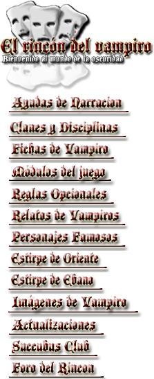 La mejor página web de Vampiro. Enserio!!! Rincon11
