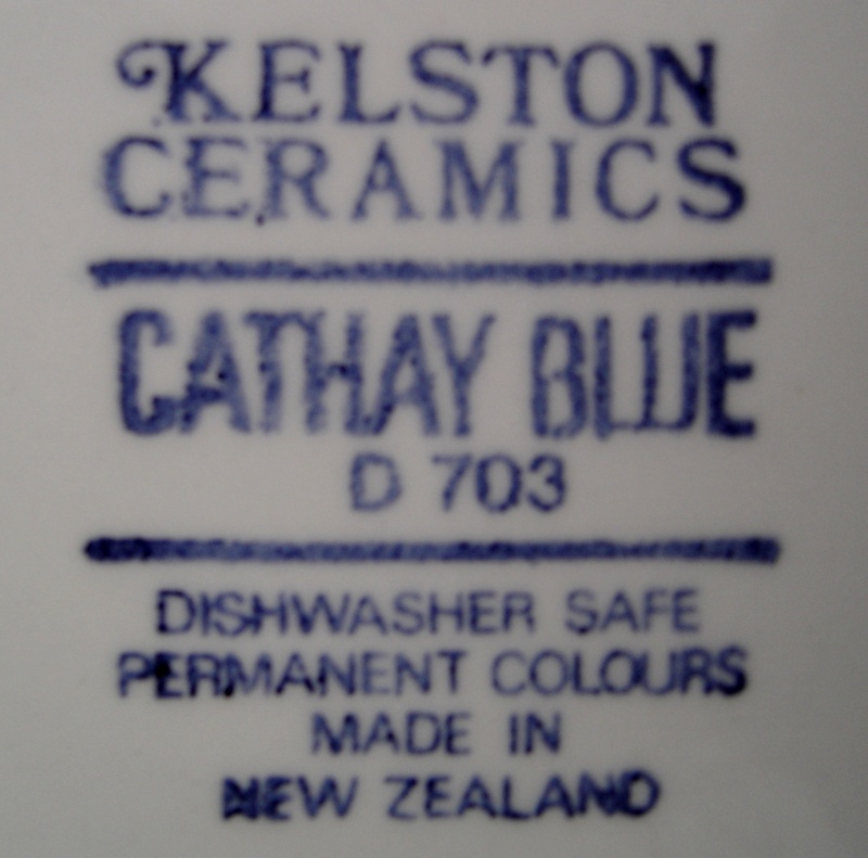 Cathay Blue D 703 Kelston Ceramics from tabs12 Cl_cat10
