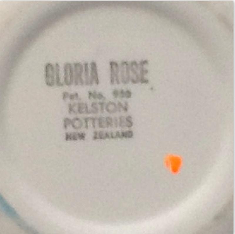 Gloria Rose - Kelston Potteries Patt No 950 from ___retro___  Crown_10