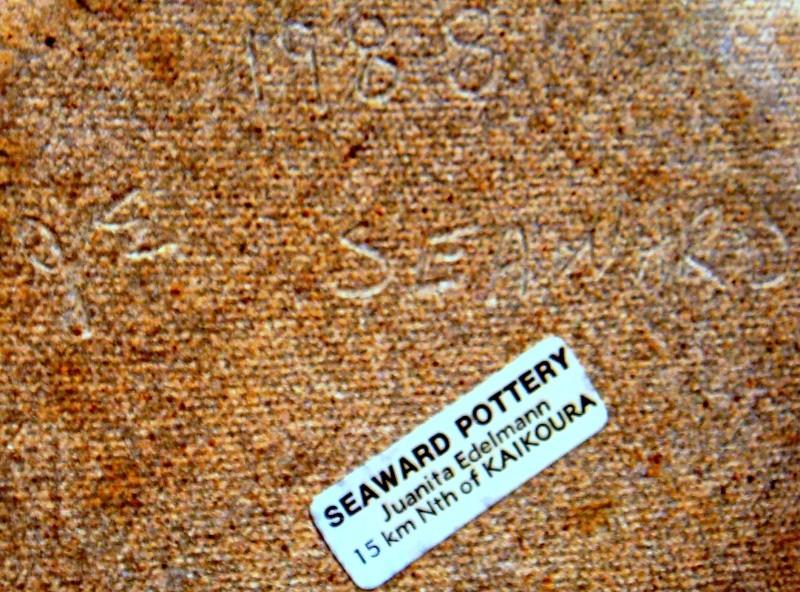 Seaward Pottery ~ Juanita Edelmann mark Dsc04016