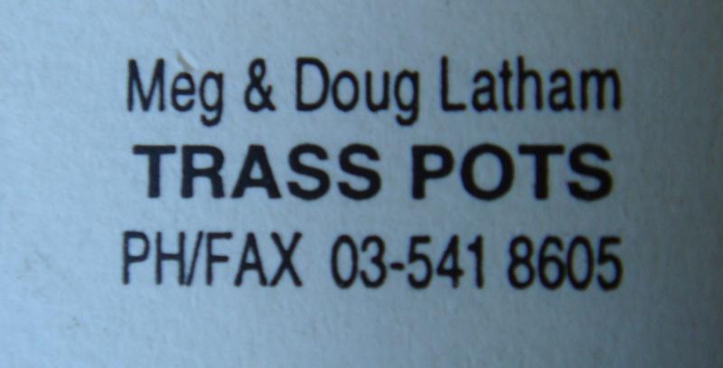 Meg & Doug Latham pottery mark ~ MAD ~ Trass Pots Dsc04113