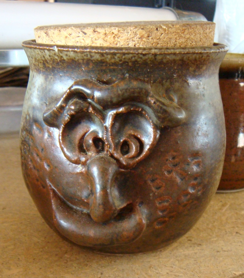 Who made this pot with a face? Dsc05215