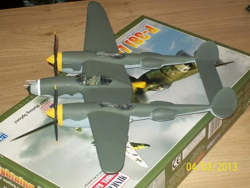 LOCKHEED P-38 Lightning  (MINICRAFT 1/48°) ( en cours de construction )  00117