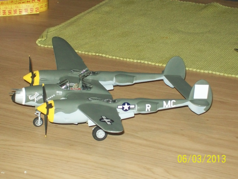 LOCKHEED P-38 Lightning  (MINICRAFT 1/48°) ( en cours de construction )  00119