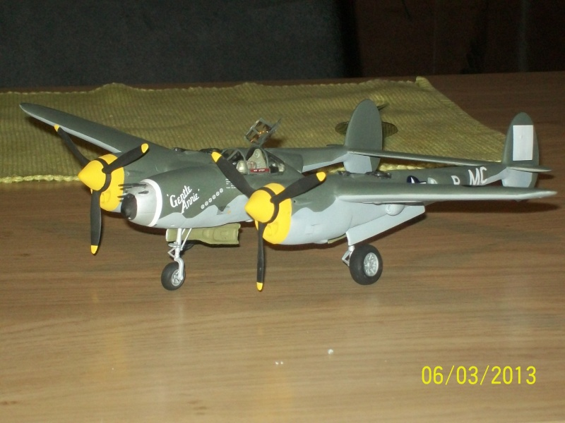 LOCKHEED P-38 Lightning  (MINICRAFT 1/48°) ( en cours de construction )  00220