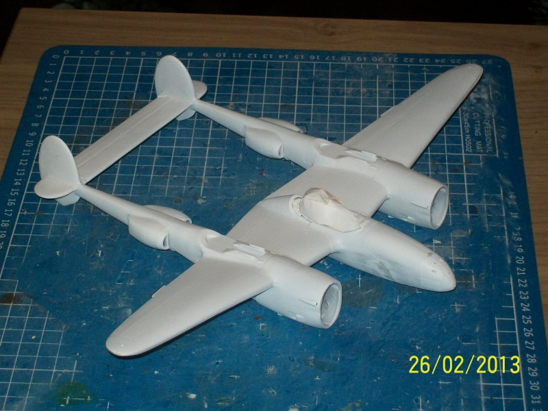 LOCKHEED P-38 Lightning  (MINICRAFT 1/48°) ( en cours de construction )  00315