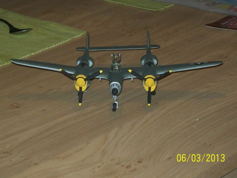 LOCKHEED P-38 Lightning  (MINICRAFT 1/48°) ( en cours de construction )  00317