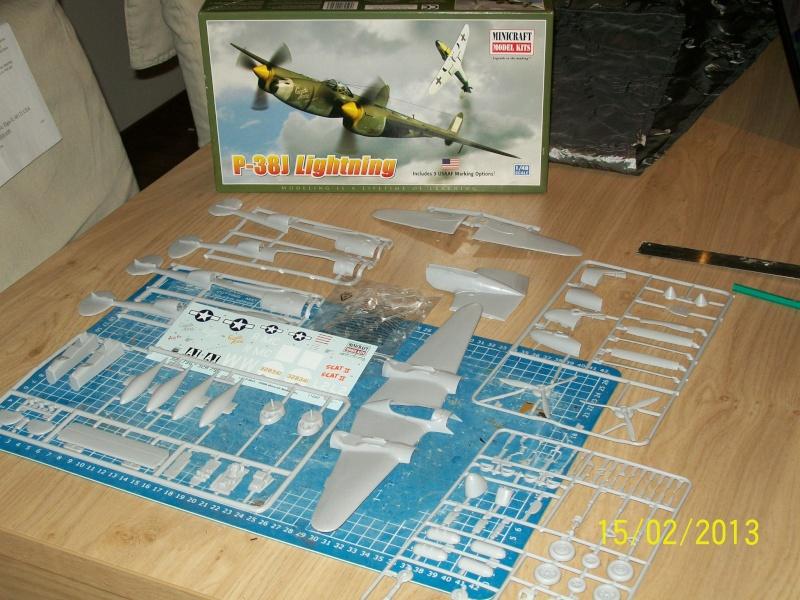 LOCKHEED P-38 Lightning  (MINICRAFT 1/48°) ( en cours de construction )  00413