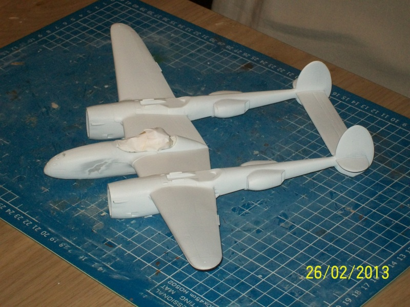 LOCKHEED P-38 Lightning  (MINICRAFT 1/48°) ( en cours de construction )  00415