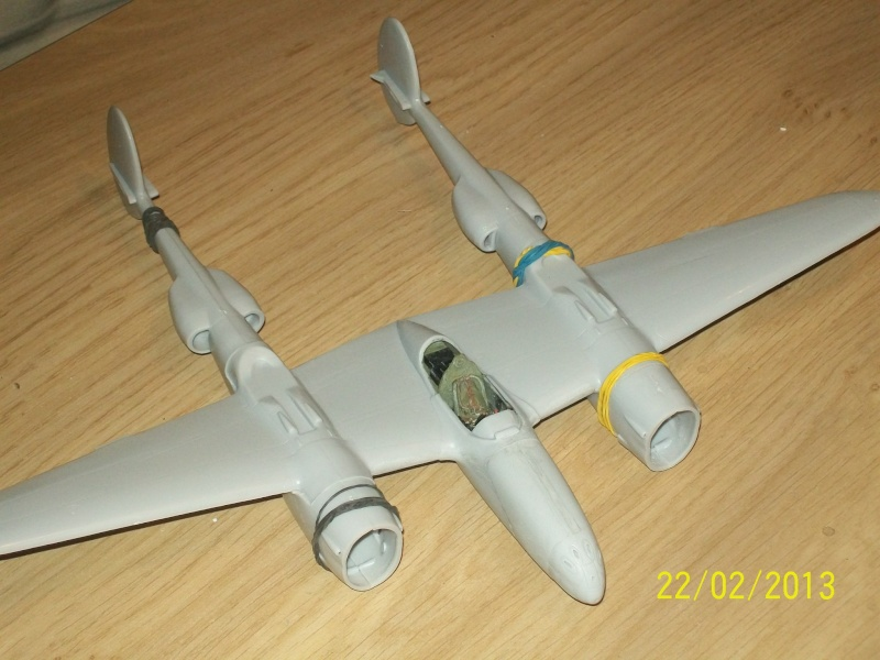 LOCKHEED P-38 Lightning  (MINICRAFT 1/48°) ( en cours de construction )  00511