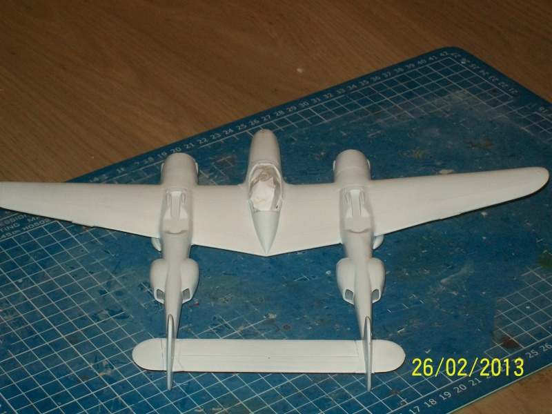 LOCKHEED P-38 Lightning  (MINICRAFT 1/48°) ( en cours de construction )  00513