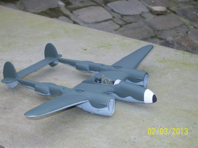LOCKHEED P-38 Lightning  (MINICRAFT 1/48°) ( en cours de construction )  01115