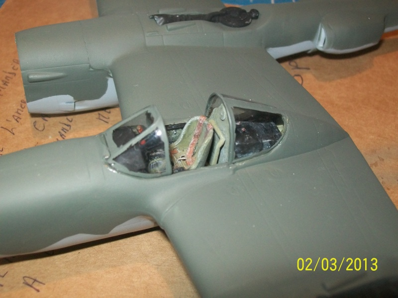 LOCKHEED P-38 Lightning  (MINICRAFT 1/48°) ( en cours de construction )  01511