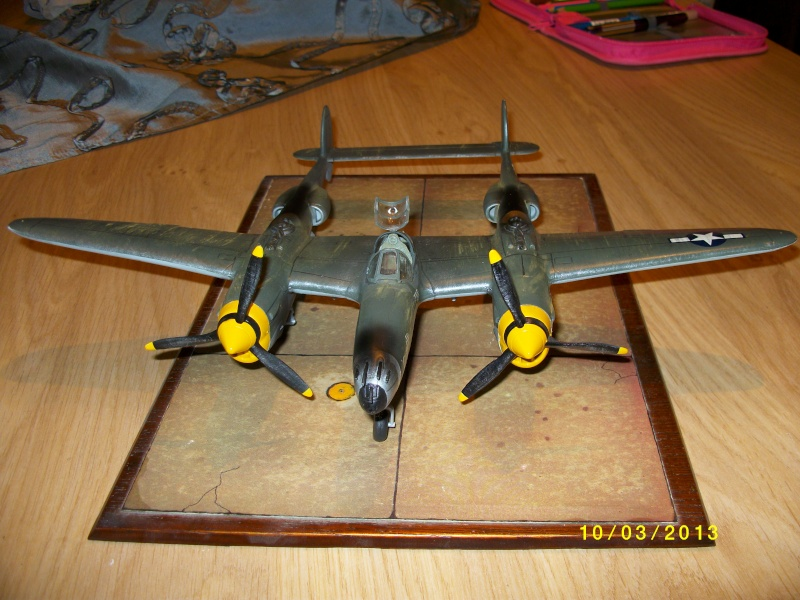LOCKHEED P-38 Lightning  (MINICRAFT 1/48°) ( en cours de construction )  01611