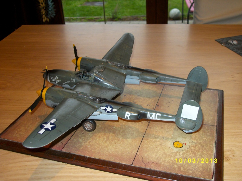 LOCKHEED P-38 Lightning  (MINICRAFT 1/48°) ( en cours de construction )  01713