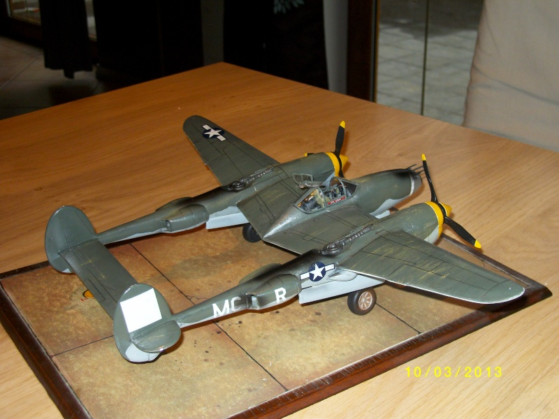 LOCKHEED P-38 Lightning  (MINICRAFT 1/48°) ( en cours de construction )  01813