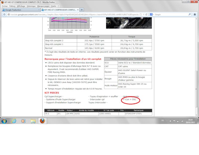 [HKS] offre limitée dans le temps => 15 Mars Hks10