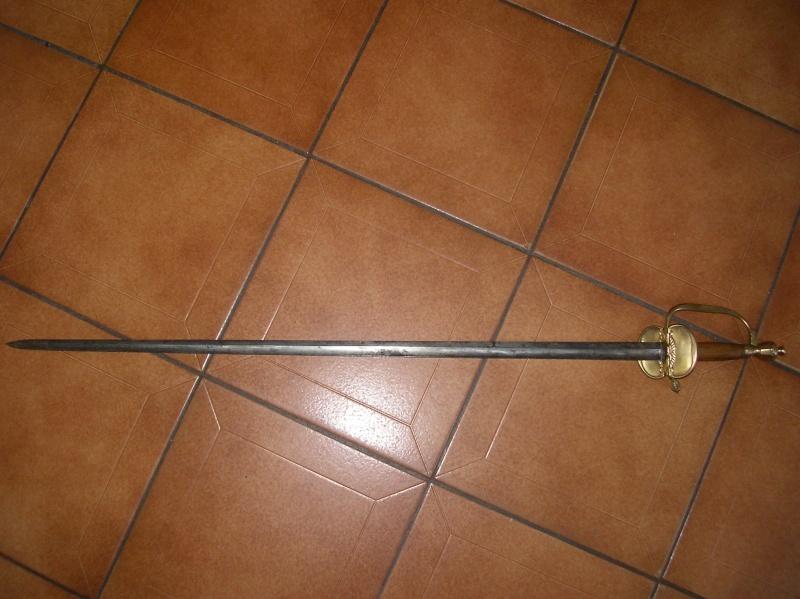Epée belge. 00718