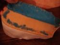steam train letter rack - Acanthus Pottery (not Shelf) 004a10