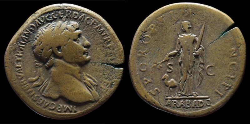 Mes autres monnaies Trajan10