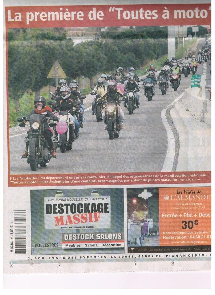 Le 10 Mars 2013 - Toutes à Moto !!!! 42646610