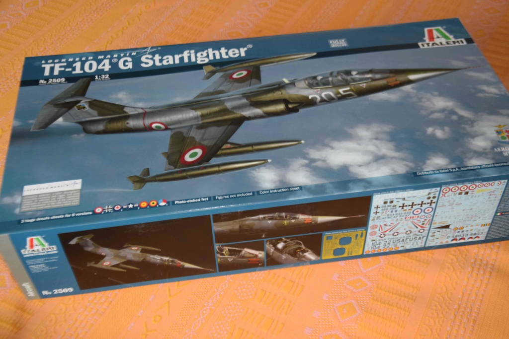 TF-104G Starfighter - Italeri 1/32 Dsc_0076