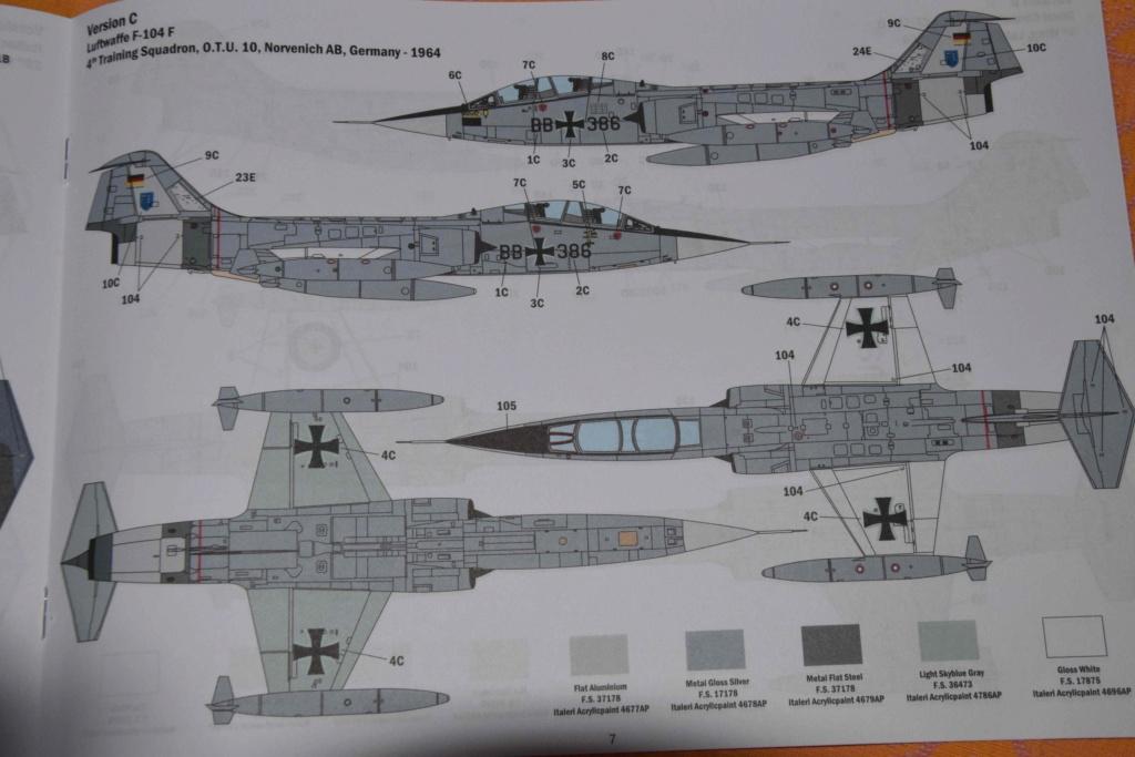 TF-104G Starfighter - Italeri 1/32 Dsc_0082
