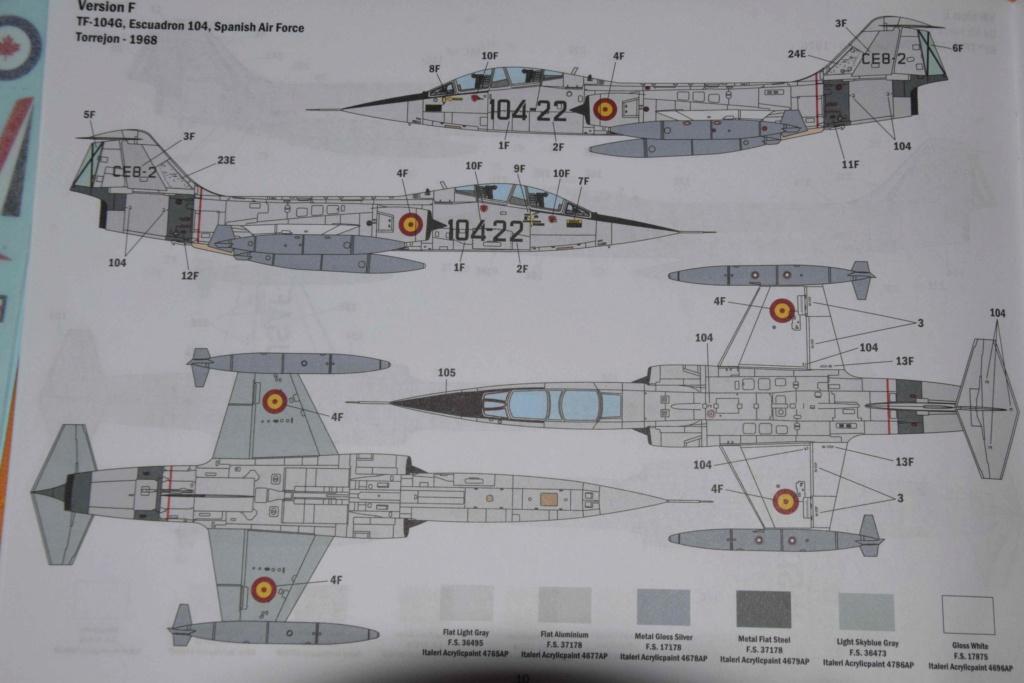 TF-104G Starfighter - Italeri 1/32 Dsc_0085
