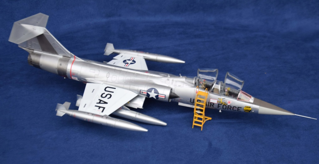 Lockheed TF-104G Italeri 1/32 Dsc_0273