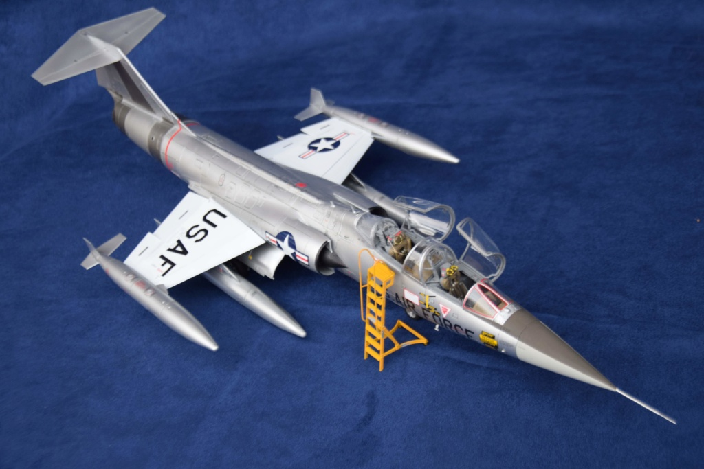 Lockheed TF-104G Italeri 1/32 Dsc_0275