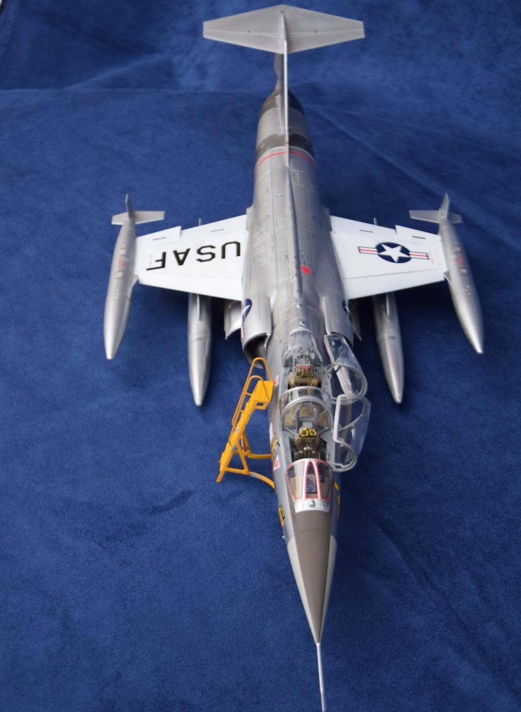 Lockheed TF-104G Italeri 1/32 Dsc_0276
