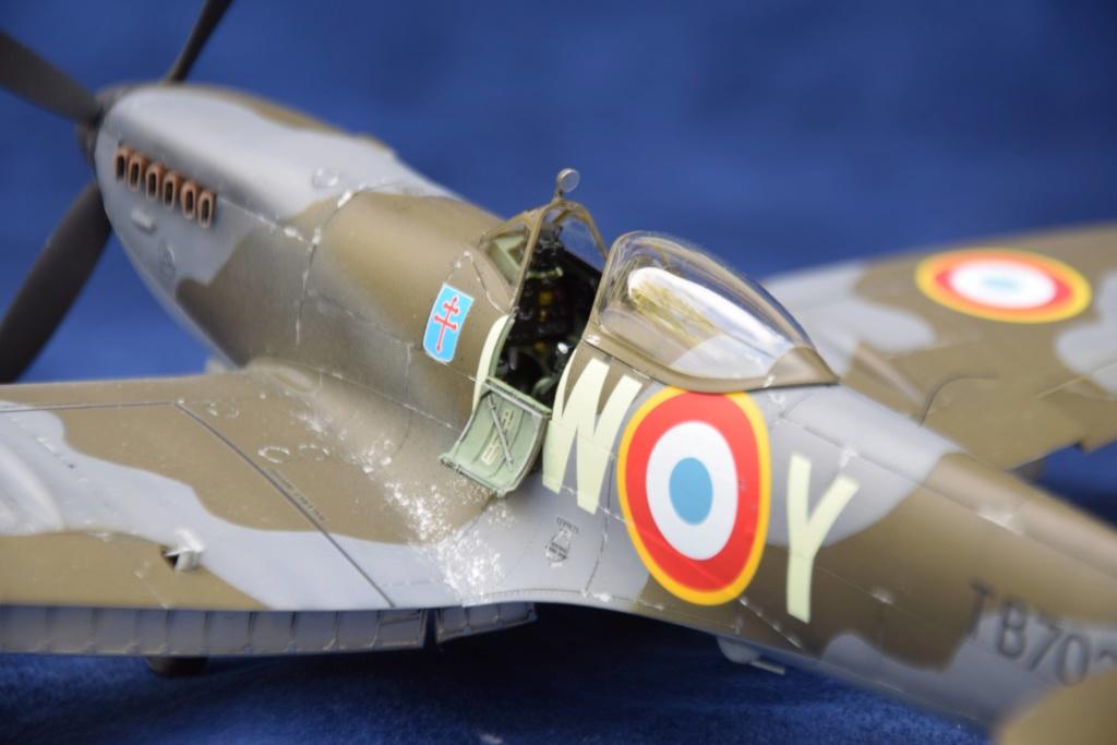 Spitfire MkXVI Tamyia 1/32 Dsc_0427
