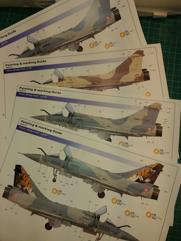 Mirage 2000C KH 1/32 Plan210